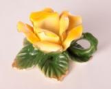 Підсвічник «Жовта троянда» 10см