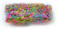 Многоцветные резинки для плетения Rainbow loom