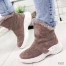 Ботинки женские Sirius пудра беж