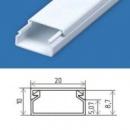 Кабельний канал 20х10 (140 м.п./уп) пластиковый с крышкой