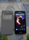Мобильный телефон Samsung S 5 (экран 4,5« Android 4, 2 сим карты) + чехол в подарок