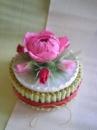 Торт-шкатулка «Пион»