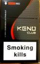 сигареты Кено клуб нано красный,Keno club nano red
