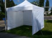Палатка торговая, уличная 3х3 раздвижная со стенами шторами - Украина