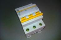 Автоматический выключатель 3р 25А ИЕК ВА47-29
