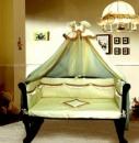 Элитное детское постельное белье для новорожденных GreTa Lux «Жаклин»