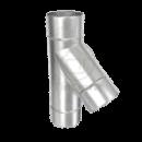 Тройник цинк, d 150, 0,45 мм