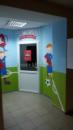 Роспись стен стадион Металист для детского футбольного клуба Чемпион