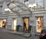 Кованый Козырек. Магазин «Санахант», Киев, ул. Грушевского