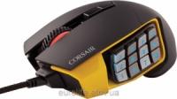 Corsair Gaming SCIMITAR RGB MOBA/MMO Black/Yellow Gaming Mouse 12000 dpi CH-9000091-EU