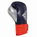 Боксерские перчатки Hybrid 65 сине-красный-серебристый