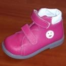 Ортопедические ботинки «Качечка» для девочек сиреневые
