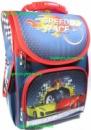Рюкзак каркасный ортопедический школьный для мальчика Спортивные машины Гонки, начальная школа, 1-3 класс