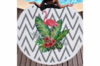 Пляжный коврик Тропический Фламинго 150 см