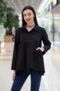 Чёрная рубашка DEBORAH