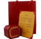 Подарочная упаковка Cartier для кольца