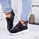 Кроссовки женские в стиле G черные