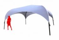 Аренда палатки «PARK 4х4» цвет белый. Для мероприятий. Киев