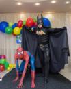 Супергерои! Человек-паук и Бэтмен