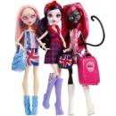 набор из 3 кукол монстер хай Catty Noir, Viperine Gorgon, Elissabat