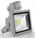 Прожектор с датчиком движения LED 10w Slim 6000K IP66 1LED