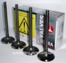 Клапана (впуск, 4 шт.) AMP (Азот.) Ланос 1,5 л.(Lanos), Nexia 1,5 и др. с двигателями FAM I