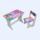 Стол со стулом «Модные куклы»