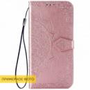 Кожаный чехол (книжка) Art Case с визитницей для Xiaomi Redmi 8a Розовый