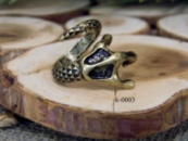 Кольцо в стиле фентези «Лапа дракона»