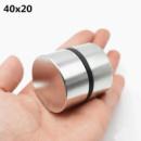 Неодимовый магнит40х20 (сила 55 кг)