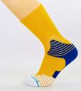 Носки баскетбольные(40-46) DMX7253-4 желтый