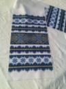 Рушник ВЫШИВАНКА (синий)