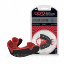 Капа OPRO Junior Silver Black/Red (art.002190001)