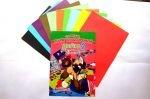 Цветная бумага Мицар «Двійка» А4, 10л. Двухстороння