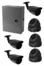 HD система видеонаблюдения на 6 камер 1200ТВЛ с установкой