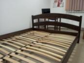Ліжко деревяне дубове Вероніка 160*200