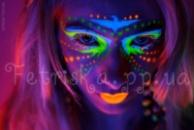Светящийся аквагрим (флуоресцентная краска для тела)