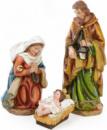 Рождественский набор 3 фигуры «Вертеп» 54см