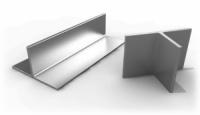 Алюминиевый тавр 100х50х2 мм сталь АД31 длина 6 м