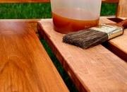Масло тунгово-льняное для древесины OilWood, 1 л.
