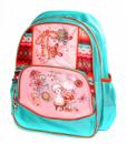 Рюкзак школьный Fantasy World Девочка Розово-бирюзовый (169K1305)