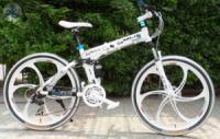 Элитный Велосипед BMW X5 White на литых дисках