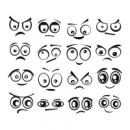 Виниловый Стикер Funny Eyes