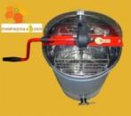 Медогонка EURO2 2-х рамочная неповоротная нержавеющая РКС