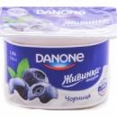 Йогурт Живинка Данон (Danone) черника 1.5% 115г
