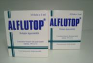 Алфлутоп - ALFLUTOP, ампулы (1мл. №10), (Румыния) оригинал.