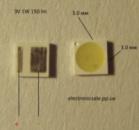 Светодиоды SMD 3030 3V 1W 150lm
