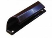 Ручка балконная алюминиевая, коричневая.