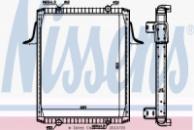 Основной радиатор (двигателя) RVI RVI Premium 210-250-260-300 (826x689x48) (12/98-)