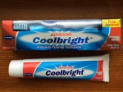 Coolbright Advanced 175гр против кариеса + Зубная щетка